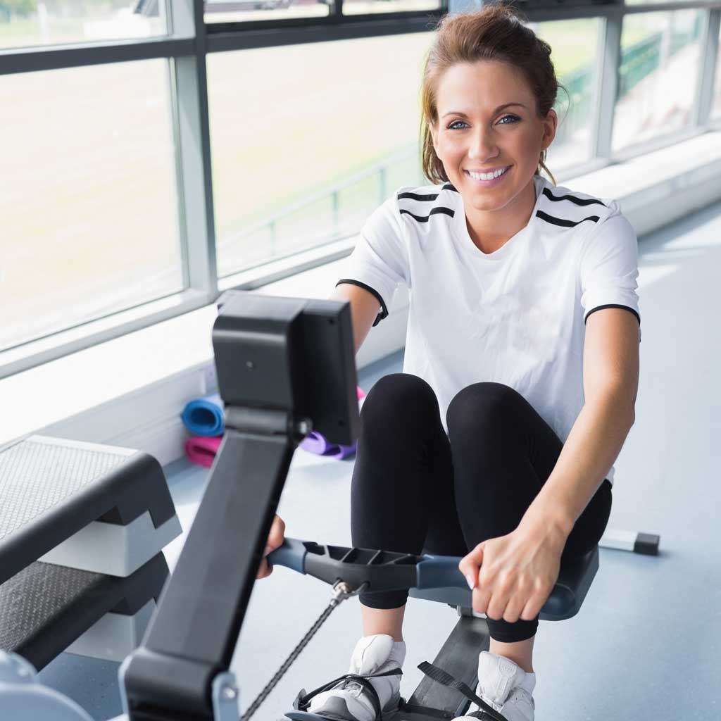 Indoor rowing is easy to learn, fun and rewarding. Try the Concept 2 Model indoor rower.