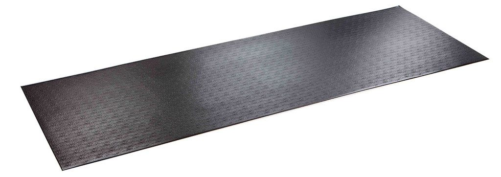 A PVC mat that can protect your flooring when rowing your indoor rowing machine.