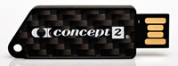 A USB memory stick from Concept 2.
